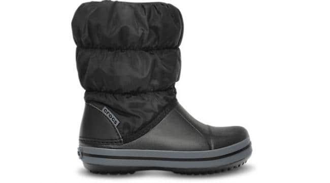 Crocs™ Winter Puff Boot Kids - Black Charcoal