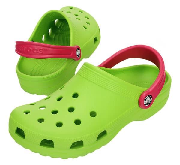 Crocs™ Kids Classic Volt Green Raspberry