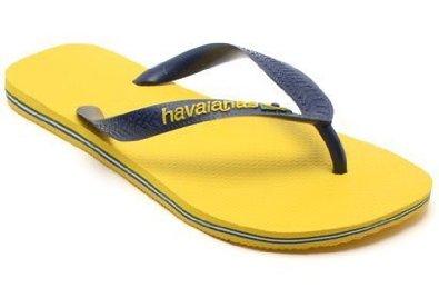 Havaianas Kids Brasil Logo Citrus Yellow