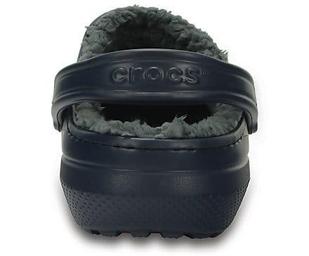 Crocs Classic Lined Clog Navy Charcoal