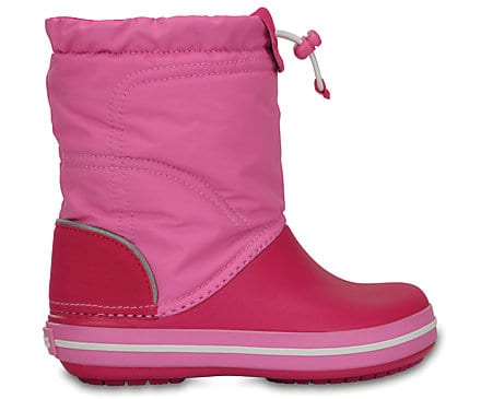 Crocs Kids Crocband™ LodgePoint Boot Candy Pink Party Pink