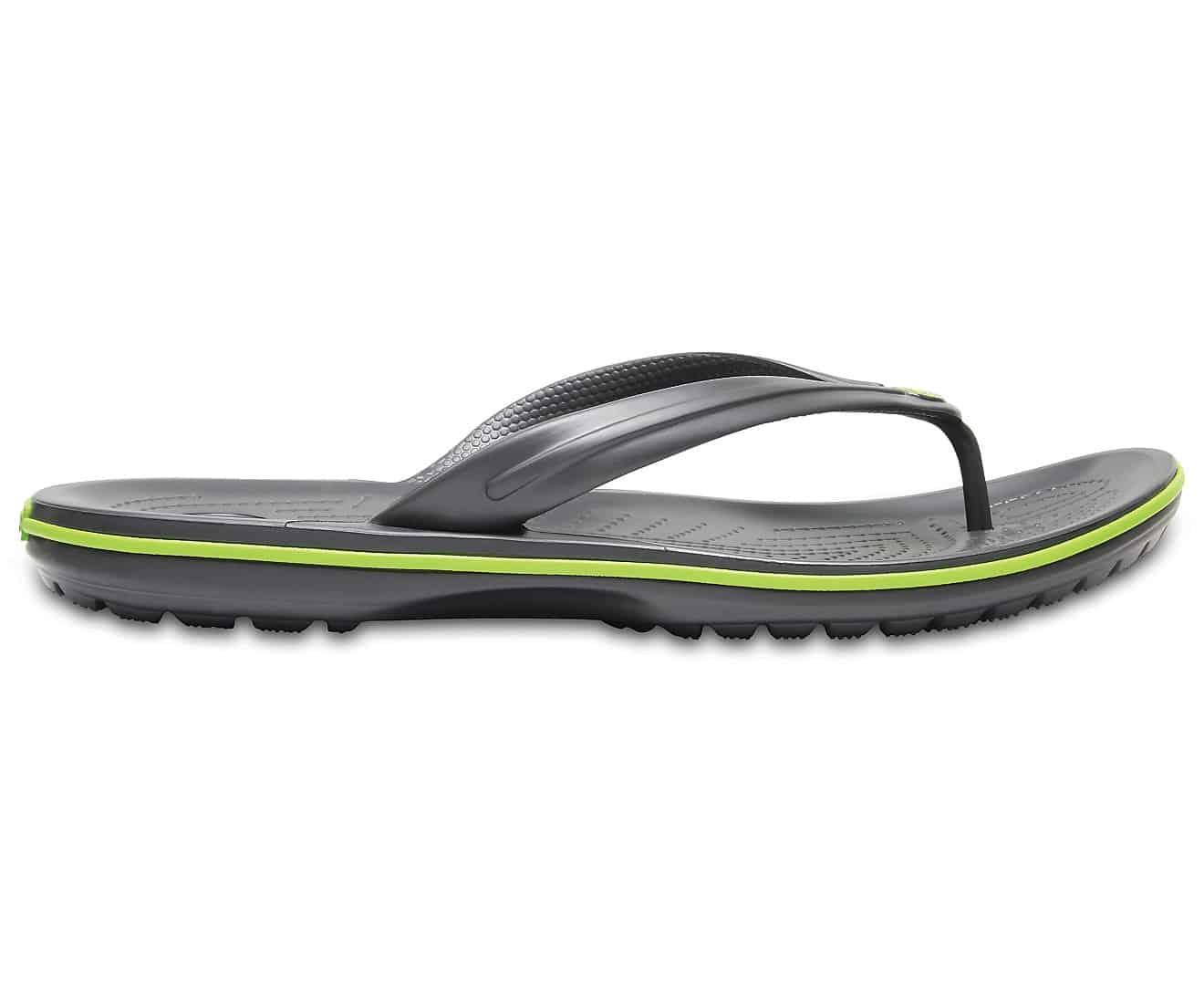 Crocs Crocband Flip Graphite Volt Green 11033 - 0A1
