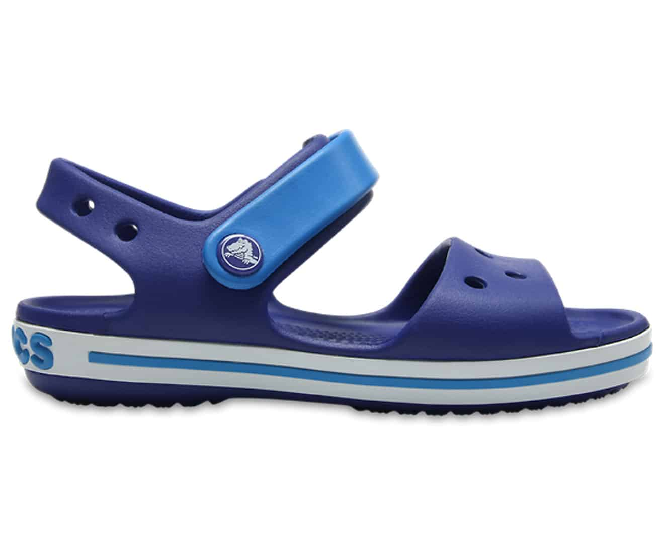 Crocs Crocband Sandal Kids Cerulean Blue Ocean 12856 - 4BX