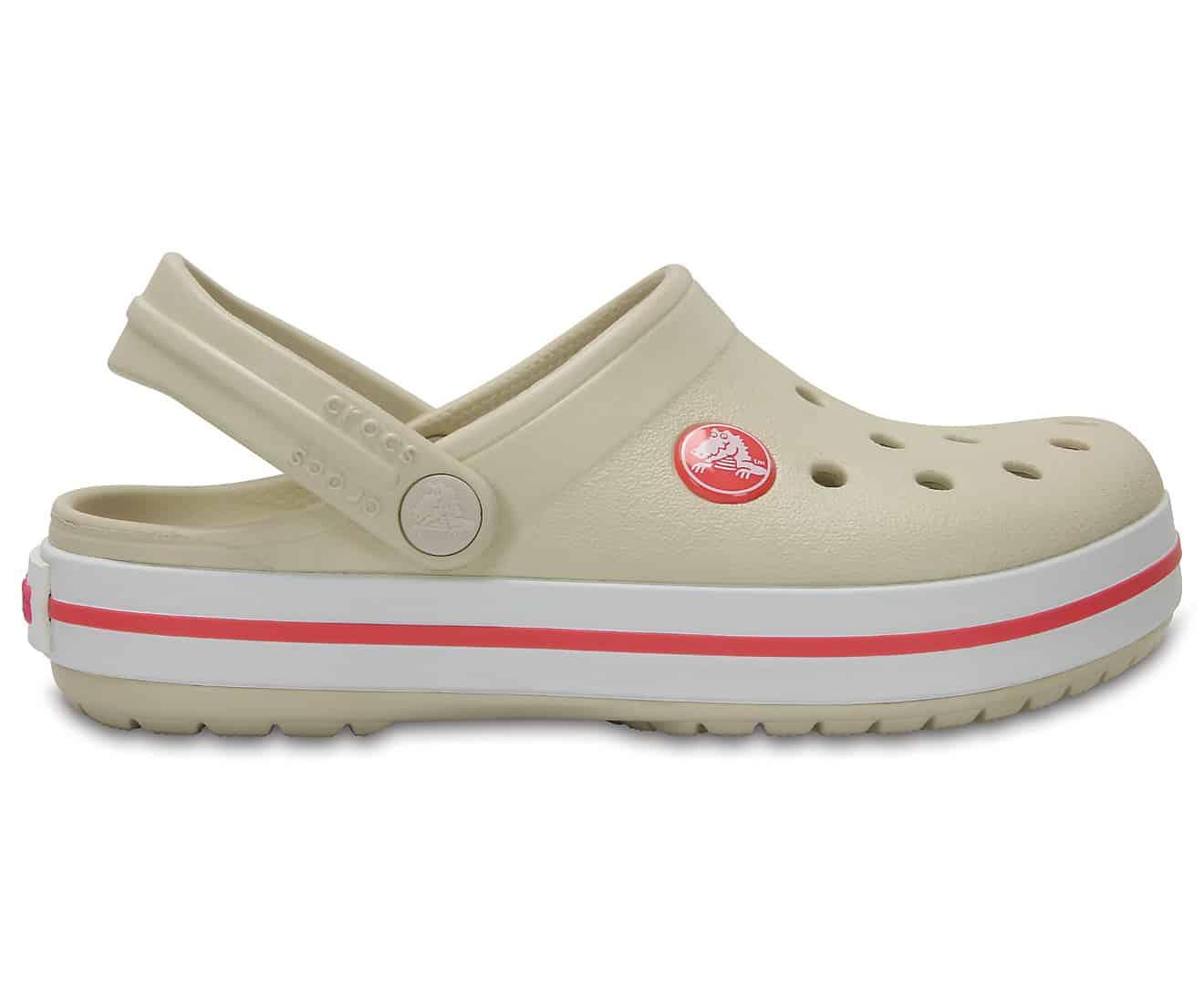 Crocs Crocband Kids Clog Stucco / Melon