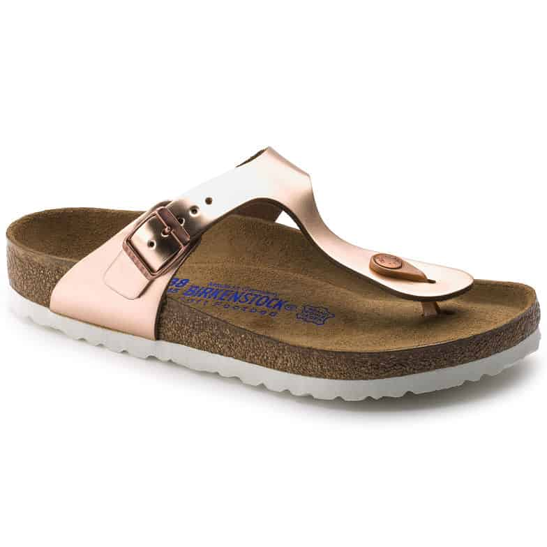 Birkenstock GIZEH SFB Metallic Copper 1005048