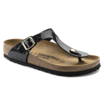 Birkenstock GIZEH Birko-Flor Magic Snake Black