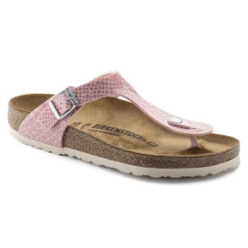 Birkenstock GIZEH Birko-Flor Magic Snake Rose