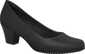 Piccadilly Black Medium Heel