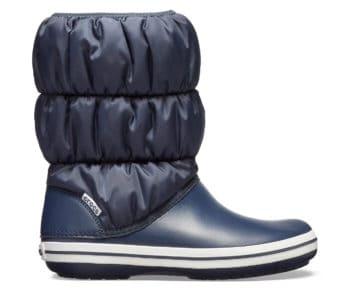 Crocs Winter Puff Boot Navy White 14614-462