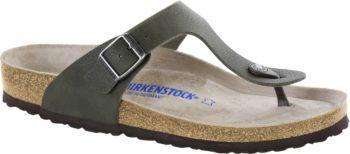 Birkenstock GIZEH Soft Footbed Desert Soil Green / Sea