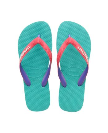 Havaianas Top Mix Lake Green / Flamingo