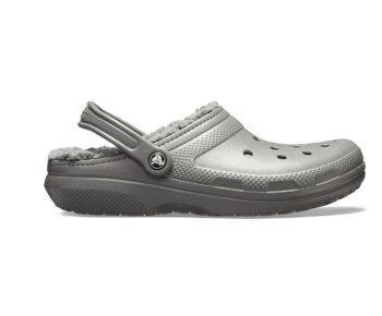 Crocs Classic Lined Clog Slate Grey Smoke 203591 - 0EX