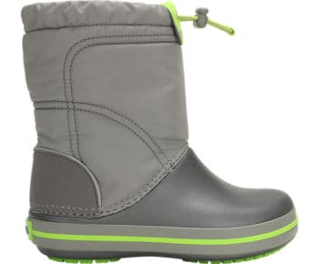 Crocs Kids Crocband LodgePoint Boot Smoke Graphite 203509 - 08G