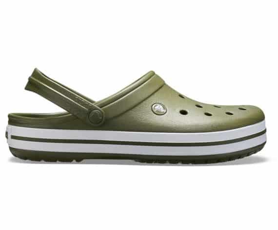 Crocs Crocband Clog Army Green White 11016 - 37P
