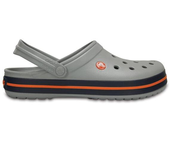 Crocs Crocband Clog Light Grey / Navy 11016 - 01U