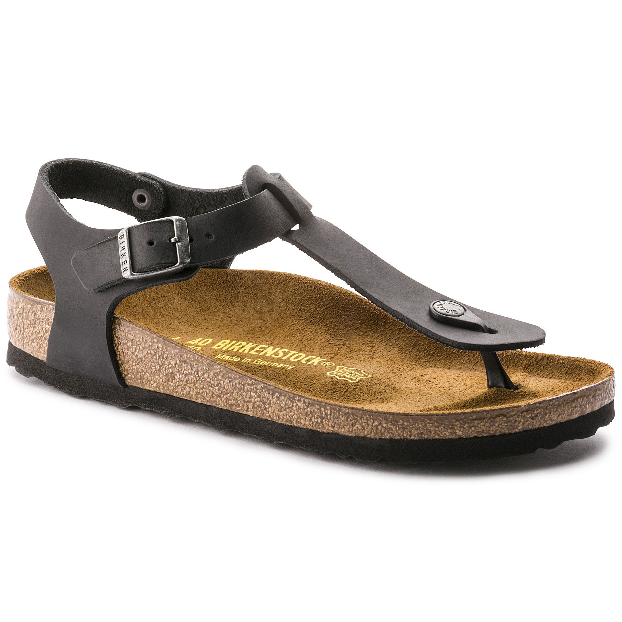 Birkenstock Kairo Oiled Leather Black 0147113