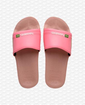 Havaianas Brasil Slide Crocus Rose 4142616.3544