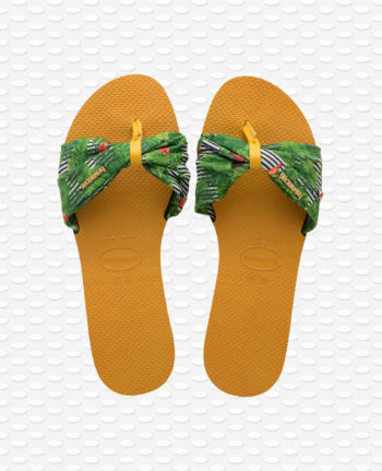 Havaianas You Saint Tropez Burned Yellow 4140714.7609