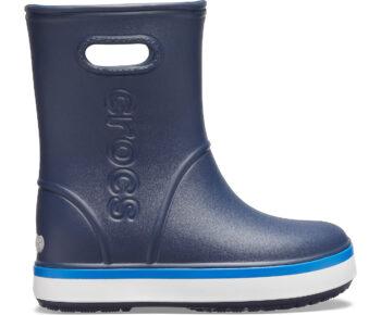 Crocs Crocband Rain Boot Kids Navy Bright Cobalt 205827 - 4KB