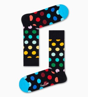 Happy Socks Big Dot Sock Black BDO01-0101