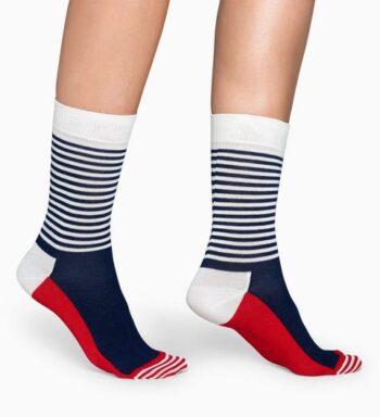 Happy Socks Half Stripe Sock SH01-068