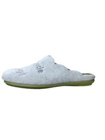Migato Felt Slippers Recycle Green