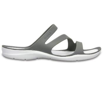 Crocs Swiftwater Sandal Smoke/White 203998 - 06X