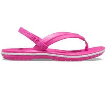 Crocs Crocband Kids Strap Flip Electric Pink 205777 - 6QQ