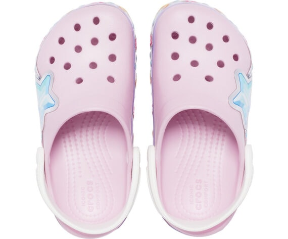 Crocs Kids Fun Lab Star Band Clog Ballerina Pink 207075 - 6GD