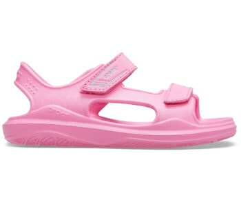 Crocs Kids Swiftwater Expedition Sandal Pink Lemonade 206267 - 6M3