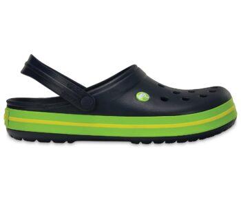 Crocs Crocband Clog Navy / Volt 11016 - 40I