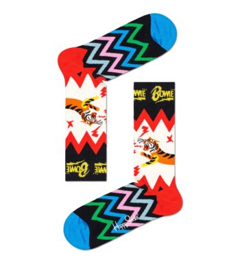 Happy Socks Electric Tiger Bowie Sock BOW01-9300