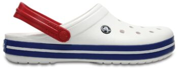 Crocs Crocband Clog White / Blue Jean 11016 - 11I