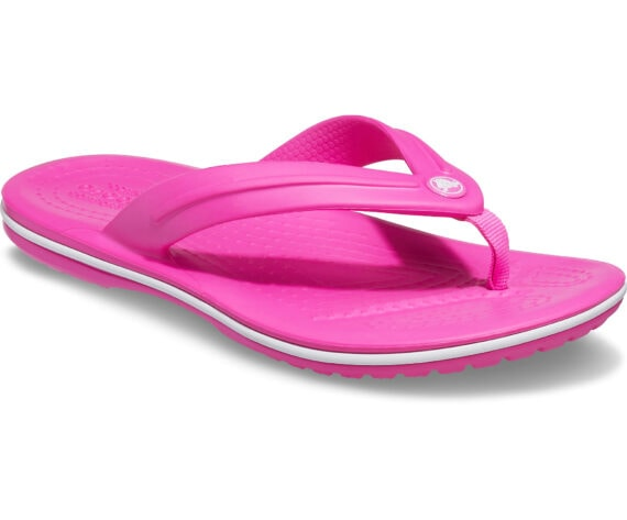 Crocs Kids Crocband Flip GS Electric Pink 205778 - 6QQ