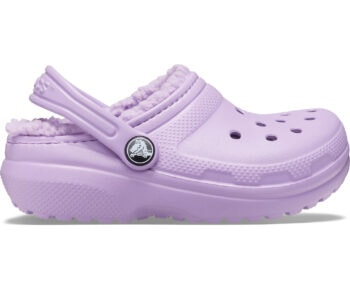 Crocs Kids Classic Lined Clog Orchid 203506 - 5PR
