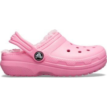 Crocs Kids Classic Lined Clog Pink Lemonade 203506 - 6M3