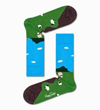 Happy Socks Little House On The Moorland Sock LHS01-6000