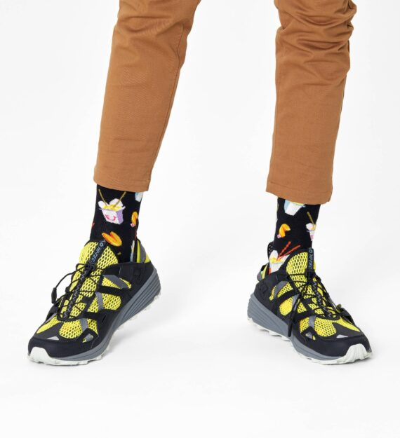 Happy Socks Take Out Sock Black TOS01-9300