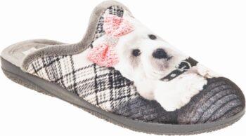 Adams Shoes Cute Dog Grey 624-21595