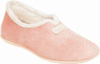 Adams Shoes Closed-Back Slippers Powder Pink 716-21526